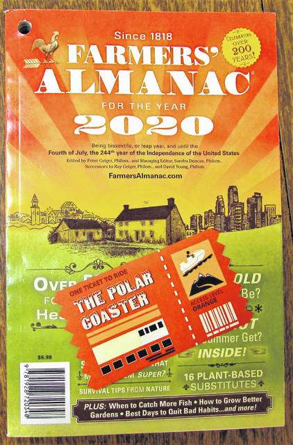 "Farmers Almanac Editor Peter Geiger advised readers of The Times-Gazette to punch their ticket for what he called the ""polar coaster"" in the publication's newly released predictions for the upcoming winter."