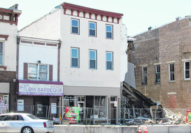 According to Hillsboro Safety and Service Director Dick Donley, demolition of three condemned West High Street buildings could begin in a few weeks if the owners accept a recent bid proposal.