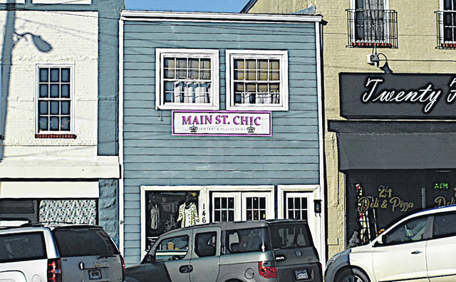 Main Street Chic celebrated is grand opening during Saturday's Fall In Love With Highland County Small Businesses event.