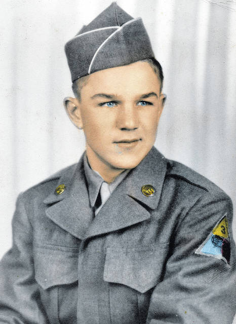 Robert Bray is pictured during the Korean War.