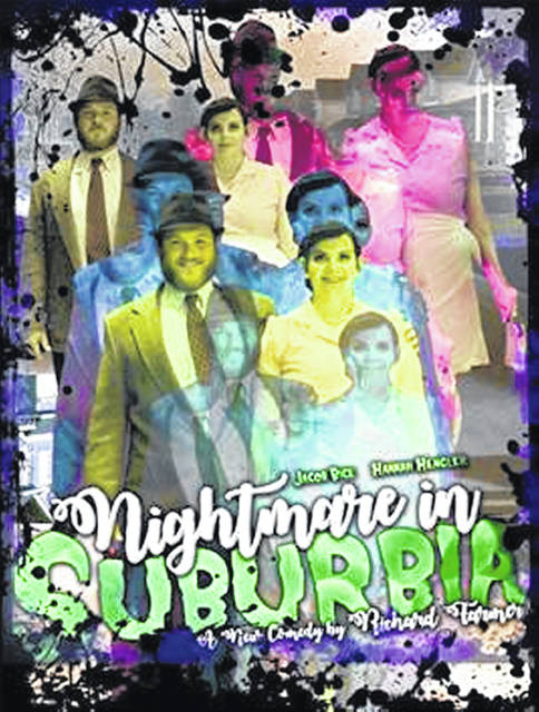 "The SSCC Theatre will present ""Nightmare in Suburbia"" Nov. 1-3 at the Hillsboro campus."