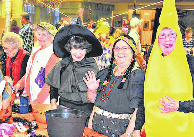 Highland County Senior Citizens Center members are pictured at a past Halloween-themed event at the center. Visitors are encouraged to dress in their favorite costume on Tuesday, Oct. 22 for the Senior Expo that will be held at the center from 11 a.m. to 2 p.m.