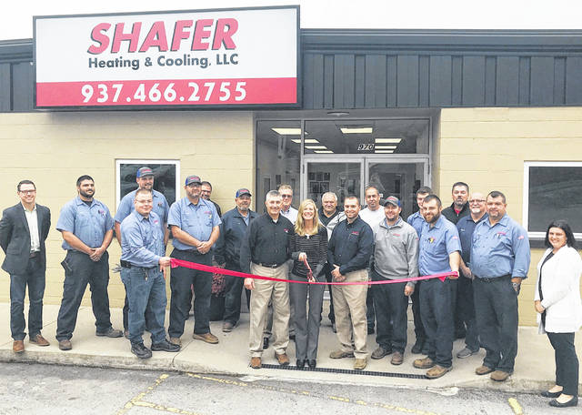 Shafer Heating & Cooling recently celebrated the grand opening of its new location at 970 W. Main St. in Hillsboro.