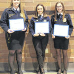 Three earn FFA American Degrees