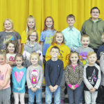 Lynchburg-Clay Elementary November Students of the Month