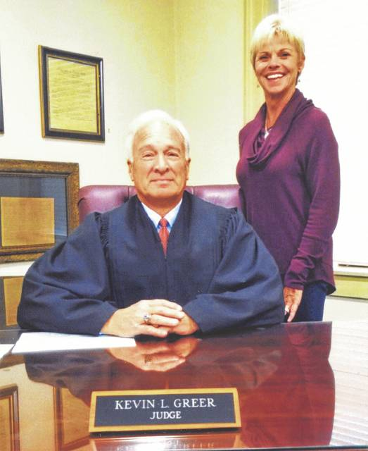 Highland County Juvenile and Probate Court Judge Kevin Greer and his wife, Kristy.