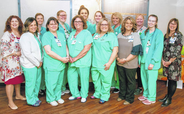 Members of Adena Regional Medical Center's perinatal team recently earned the Joint Commission's Gold Seal of Approval.