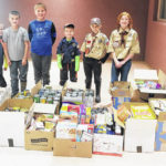 Hillsboro Cub Scouts collect items for food pantry