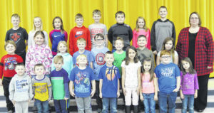 Lynchburg-Clay Elementary Students of the Month