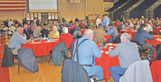 Some of the crowd is pictured at a past Ag Is Everyone's Business event at the Southern State Community College Patriot Center in Hillsboro.