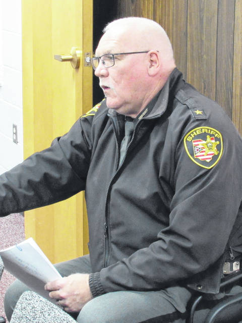 Highland County Sheriff Donnie Barrera briefed commissioners Wednesday on his findings regarding proceeding with the purchase of a body scanner for the Highland County Justice Center.
