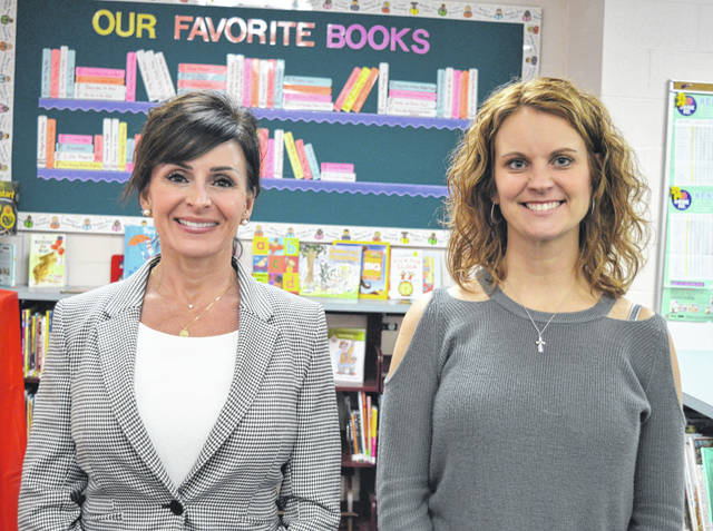 East Clinton Local Schools Board of Education's newly elected members from left, Amy Zimmerman and Janielle Runyon, were sworn into office this week.