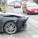 No injuries in two-car crash Tuesday