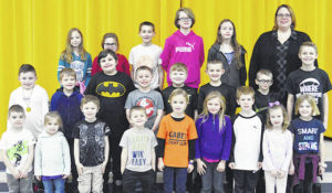 Lynchburg-Clay Elementary February Students of the Month