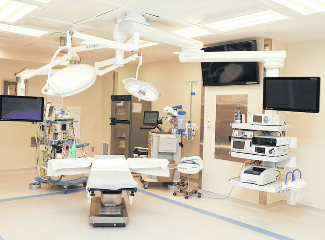 This is a picture of a newly expanded surgical suite at Highland District Hospital in Hillsboro.