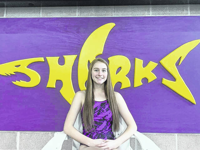 Peyton Voss, a senior at McClain High School, has been breaking school records since her freshman year.