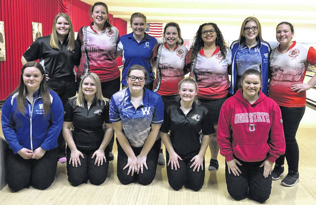 First and second team All-FAC for girls bowling on Wednesday, Feb. 12.