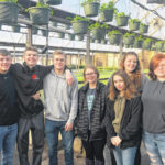 Greenhouse class visits Patch Work Garden
