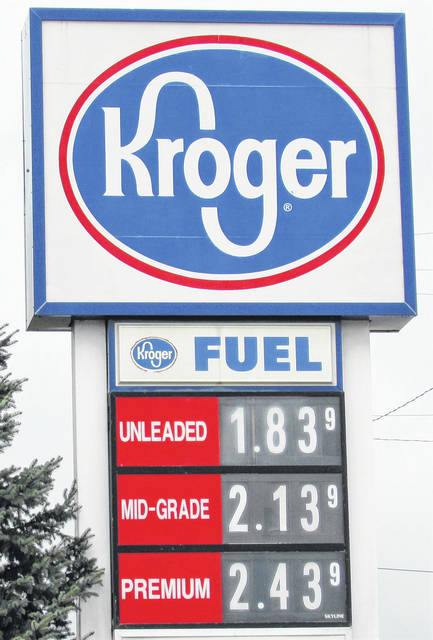 The Hillsboro Kroger on Harry Sauner Road had the distinction of having the city's lowest gas prices Thursday afternoon.