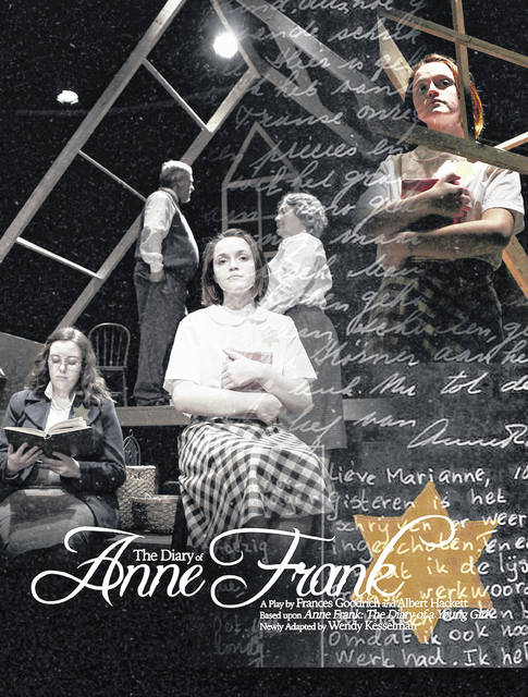 """""""The Diary of Anne Frank"""" will be presented at Southern State Community College in Hillsboro April 3-5."""
