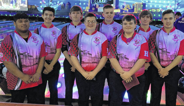 Hillsboro Indians varsity boys bowling team places 11th overall at the Division II State Championship.
