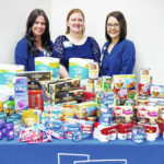 Adena Hospice collects food for students