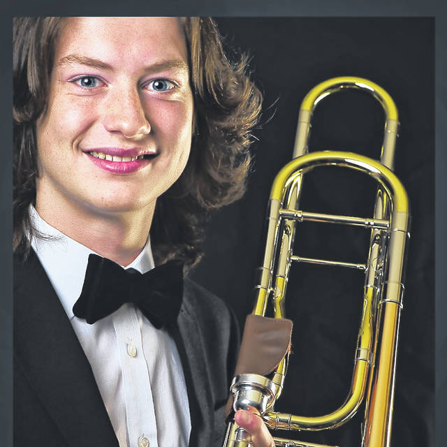 Gabe Gilliland, a 2020 Hillsboro High School graduate, has won first place in the Dayton Philharmonic Volunteer Association College Scholarship Competition and as a result received the Clark J. Haines College Scholarship for $2,500. The scholarship is given to a member of the Dayton Philharmonic Youth Orchestra. Gabe is the son of Pat and Tara Gilliland of Hillsboro. He plays the trombone. He was a member of the National Association for Music Education 2019 All-National Honor Ensembles, the OMEA All-State Honor Band and was a member of the Cincinnati Youth Jazz Orchestra through UC-CCM for the last two years.