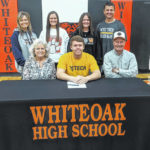Trey Bogart signs with West Virginia University Tech