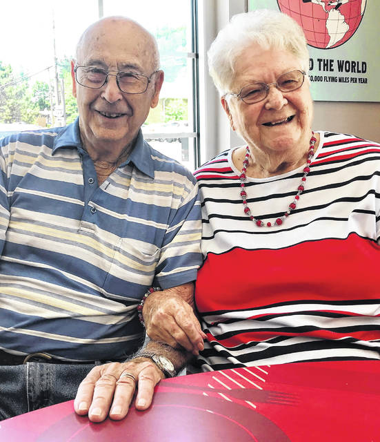 Hayes and Violet Kelley celebrated their 69th wedding anniversary Friday.