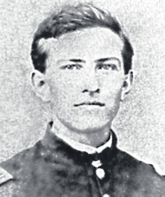 Joseph Foraker is pictured during his years as a soldier.