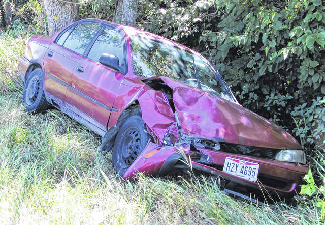 A Seaman woman suffered minor injuries and was taken to Highland District Hospital by the Paint Creek Joint EMS/Fire District following a two-car crash Tuesday afternoon. According to Trooper James Brooks of the Wilmington State Highway Patrol Post, Ravonna Yeazel, of New Vienna, was driving a 2005 Dodge Caravan northbound on SR 247 when she stopped to make a left turn onto McDonald Lane, approximately one-eighth of a mile south of the Mount Washington Church of Christ. The trooper said she failed to yield the right of way to an oncoming vehicle and was struck by a southbound 1993 Toyota Camry driven by Faith Hargett, of Seaman. Brooks declined to say if a citation would be issued as the investigation into the crash was ongoing.