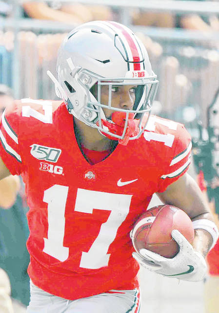 Chris Olave will be one of the top two wide receivers for Ohio State this season, but who will step up and be No. 3 or No. 4?