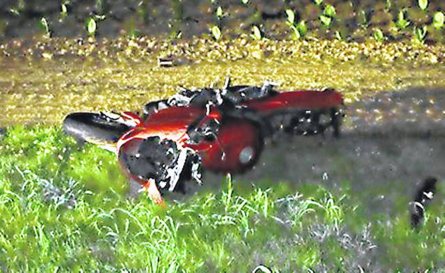 This is the motorcycle Hillsboro resident Richard Owens was driving when he reportedly crashed and died Tuesday in Indiana.