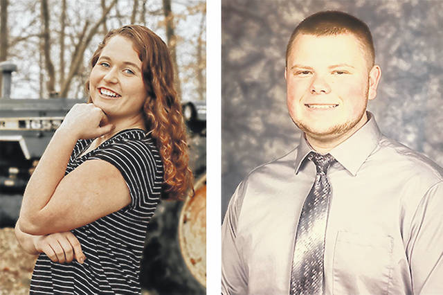 Cylee Bratton (left) and Nicholas Bennington are winners of the NCB Money Matters Financial Literacy Scholarship for $1,000.