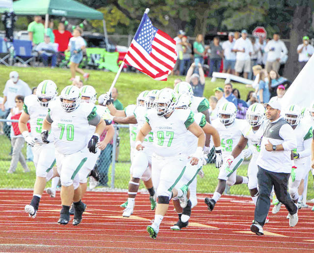 The Wilmington College football team will be able to run on to the field for a game in the 2020-21 school year. The Ohio Athletic Conference announced a move to spring for football, soccer and volleyball.