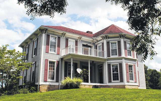 The Barrett family farmhouse, which was built in 1876, overlooks Cave Road just outside Rainsboro. Local non-profit Arc of Appalachia is working to restore the farmhouse.