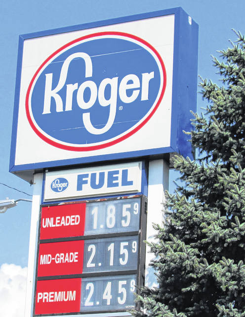 Kroger on Harry Sauner Road in Hillsboro had the city's lowest gas price on Thursday, with self-serve unleaded at $1.85 a gallon.