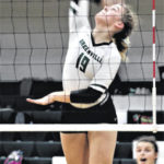 Lady Wave volleyball topples Sidney