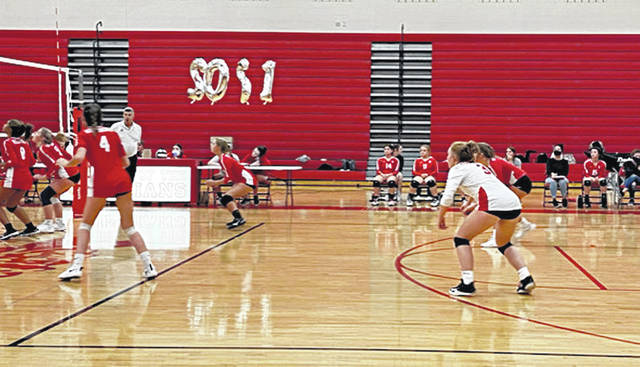 "Tuesday was senior night for Hillsboro volleyball captain Julie Middleton (3), when the Lady Indians defeated East Clinton 25-15, 25-15 and 25-17. Middleton has played volleyball for Hillsboro for six years and club volleyball for two years. ""Julie will be missed by all of us,"" HHS volleyball coach Nichole Dickey said. ""It was nice to have a win on senior night. We wish Julie the best in whatever she decides to do in her future. In serve receive Tuesday, Middleton and Gracie Dean both had 10 positive passes; Dean led in kills with 12, followed by Emma Birkheimer with four; Rylie Scott had 23 assists; and Dean led with 20 digs followed by Middleton with 13. The Hillsboro jayvees also won in three sets."