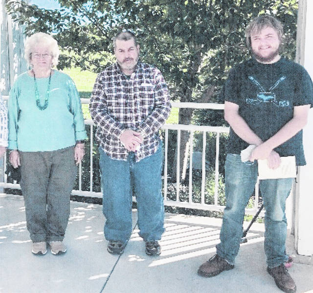 Pictured (from left) are Sue Hillger, John Hillger and Michael Saaranen. Not pictured is Penny Tapp.