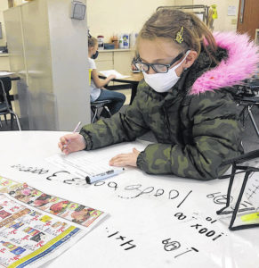 Greenfield Elementary prepares for Thanksgiving