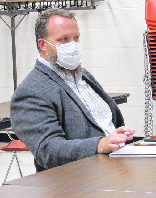 Highland County Health Commissioner Jared Warner briefed commissioners Wednesday on the progress his office has made in battling the COVID-19 cases in the county.