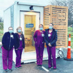 Pods help Adena with curbside testing