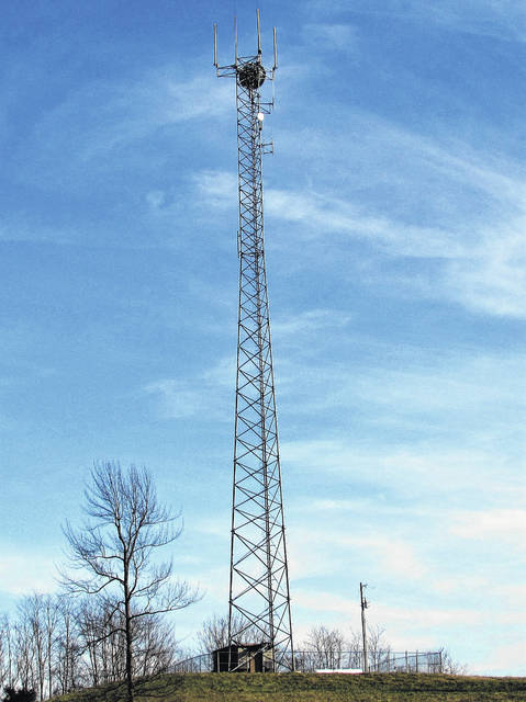 Rural Ohioans can expect to see more cellular network towers, such as this one behind Union Stockyards east of Hillsboro, constructed in the coming years due to efforts by the FCC to expand and improve high-speed internet capability to over five million under-served homes and businesses across the nation.