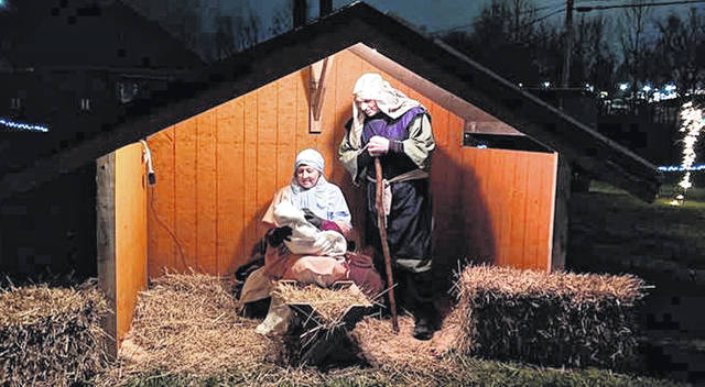 This is a scene from one of the past live nativity scenes at the Northview Baptist Church in Hillsboro. The scene will be played out again from 5-8 p.m. Saturday, Dec. 12, with a rain date of Sunday, Dec. 13.
