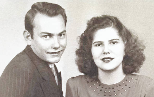 Ralph and Dorothy (Thornbury) Nill are pictured in their early years together.