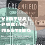 Greenfield hosting virtual meeting about downtown