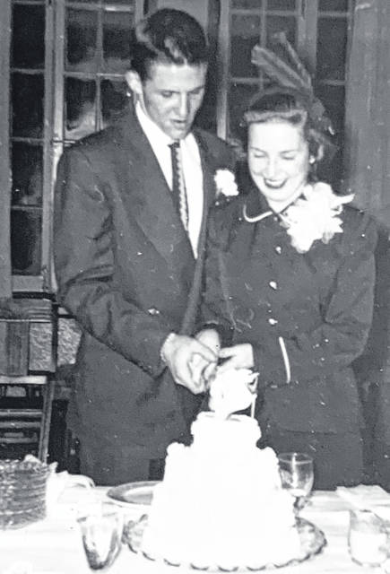 Dan Foland and Marjorie Haidet were married in Wilmington on Feb. 2, 1951, nearly 70 years ago.