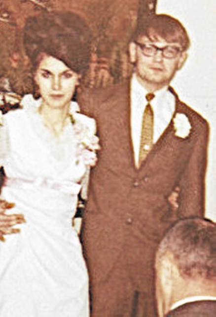 James and Deborah Wolfe of Washington C.H. are celebrating their 50th wedding anniversary. James and Deborah were married on Feb. 7, 1971 in Springfield, Ohio. They have two children, Wyatt Wolfe of Washington C.H. and Gail (Joe Robinson) of Hillsboro; and two grandchildren Leah and Jacob. In lieu of a formal gathering the family asks that cards be sent to the couple at 1050 Broadway St., Washington C.H., Ohio 43160.
