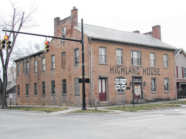 This is a photo of the Highland House Museum in Hillsboro that serves as headquarters for the Highland County Historical Society.
